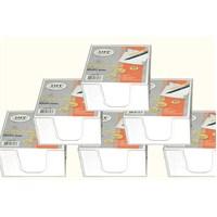 Liz Mini Plastik Kutulu Beyaz Küp Blok Ekonomik