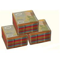 Liz Küçük Plastik Kutu Renkli Küp Blok