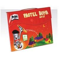 Pritt 18 Renk Çantalı Pastel Boya (1048063)