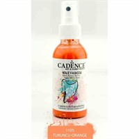 Cadence Your Fashion Sprey Kumaş Boyası 100 Ml. Turuncu 1105