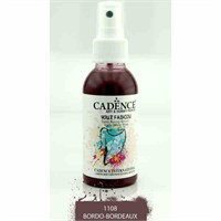 Cadence Your Fashion Sprey Kumaş Boyası 100 Ml. Bordo 1108