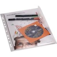 Serve Çıtçıtlı Zarf,Klasöre Takılabilir Dumanlı Sv-6008