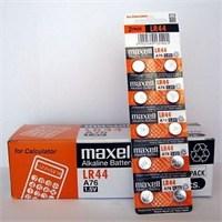 Maxell Lr44, A76, Alkalin Hafıza Pili 10'Lu