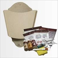 Artebella Sizde Yapabilirsiniz Seti Bak Postacı Geliyor Ahşap Posta Kutusu (Sy076)