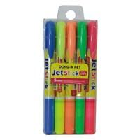 Dong-A Jet Stick Fosforlu Jel Kalem 5'li Set