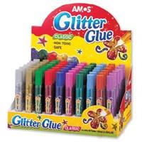 Amos Glitter Glue Simli Yapıştırıcı 10 ml. 5 Renk GCL10D60 eol