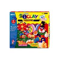 Amos I-Clay Zıplayan Oyun Hamuru 18 Gr X 6 Renk Ic6Pt