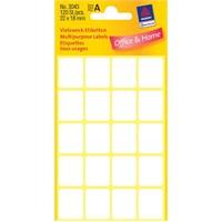 Avery 22 x 18 mm Beyaz Dikdörtgen Etiket 120 Adet/Paket