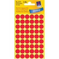 Avery 12mm Yuvarlak Etiket 270 Adet/Paket