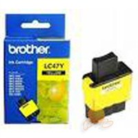 Brother LC-47Y Sarı Faks Kartuşu (FAX-1840/MFC-3240C-5440CN-5840CN-210C-410CN-620 CN Sarı Mürekkep)