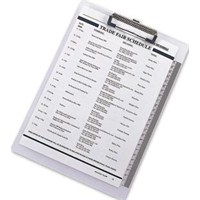 Comix A734 (A4) Kapaklı Şeffaf Sekreter Altlığı BYBIC56
