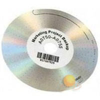 LW CD/DVD Etiketi,160 etiket/paket, 57 mm çap (14681)