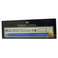 Faber Castel 5062 Keçeli Kalem 10'lu Paket Mavi