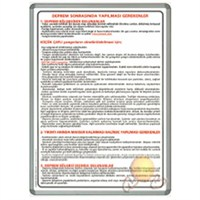 İnter 50x70 Deprem Sonrası Alüminyum Çerçeveli INT-711-8