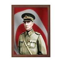 İnter 35x50 Atatürk Portresi Lamine Çerçeveli INT-824-7