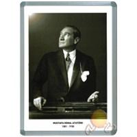 İnter Atatürk Portresi 35 x 50 Alüminyum Çerçeve
