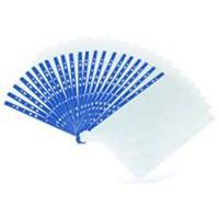 Noki Poşet Dosya Cristal Mavi Şeritli 100'Lü Kutulu