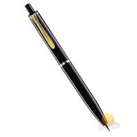 Pelikan 200 Serisi K200 Siyah 14 Ayar Altın Kaplama Metal Aksam Tükenmezkalem