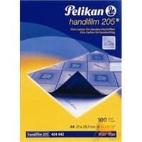Pelikan Handifilm 205 Mavi Plastik Karbon
