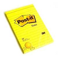 Post-it 660 Not Çizgili Sarı 100 yaprak 102x152mm - HATALI