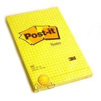 Post-it 662 Not Kareli Sarı 100 yaprak 102x152mm - HATALI