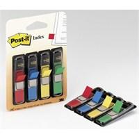 3M Post-it 683-4 Index 4 Renk x 35 Adet İşaret Bandı Siyah Dispenserli