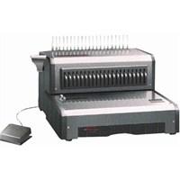 Qupa D160 Elektrikli Plastik Cilt Spiral Makinası