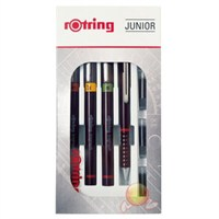 Rotring İsograf Rapido Kalem Seti (0,2-0,3-0,5)+0,5 Tikky Junior