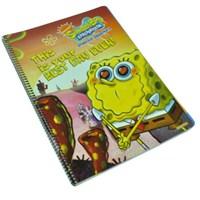 Sponge Bob (A4) 72 Yp. Spiralli Defter 42024