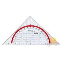 Standardgraph Üçgen Açı Şablonu 16CM