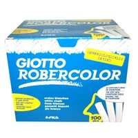 Giotto Robercolor Tozsuz Renkli Tebeşir 100'lü Paket