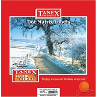 Tanex 35x77 mm Bilgisayar Etiketi