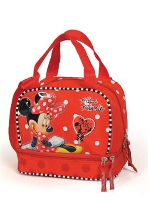 Yaygan Mickey Mouse Miss Minnie Beslenme Çantası