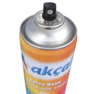 akçalı sprey boya şeffaf vernik 400 ml.
