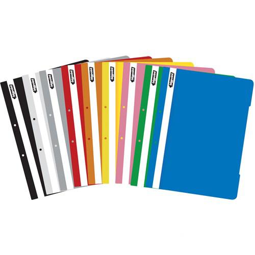 Bp A4 Plastik Telli Dosya Şeffaf Kapaklı Beyaz 50 Adet