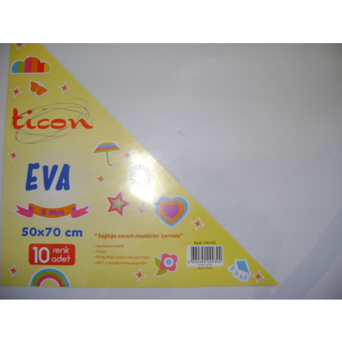 Ticon Eva 2Mm 50*70Cm Beyaz