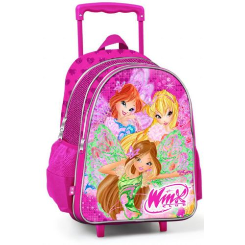 Yaygan Winx Club Simli Çekçek Okul Çantası ( 63216) 30X39X17 Cm