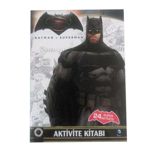 Batman v Superman - Aktivite Kitabı