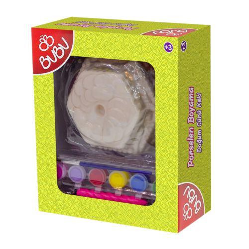 Bu-Bu Porselen Boyama Doğumgünü Keki BUBU-PB0017