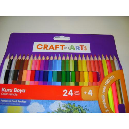 Craft And Arts Kuru Boya Tam Boy 24+4=28Lü