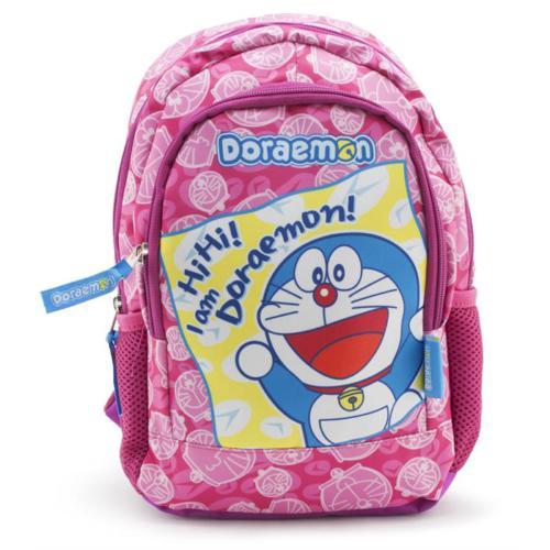 Doraemon Anaokulu Sırt Çantası Pembe