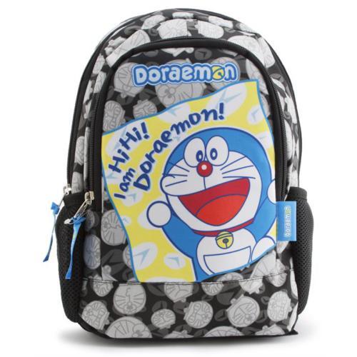 Doraemon Anaokulu Sırt Çantası Siyah