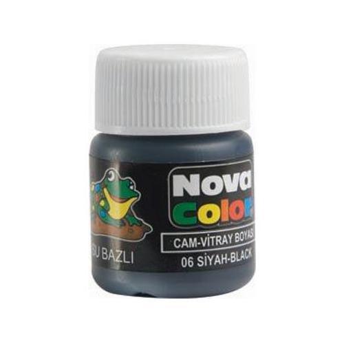 Nova Cam Boyası Siyah Su Bazlı Nc-154