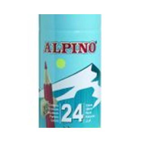 Alpıno Tüp 24 Renk Uzun Kuru Boya Kalemi Al-791