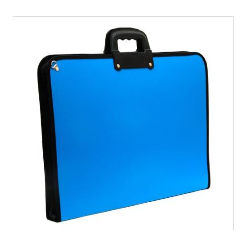 Brons Mavi Proje Çantası 35x50 cm