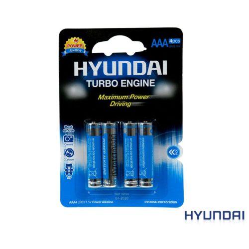 Hyundai Aaa Power Alkaline İnce Pil 4 Adet Kd