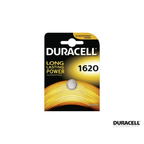 Duracell Cr 1620 Lithium 3V Pil 1Li