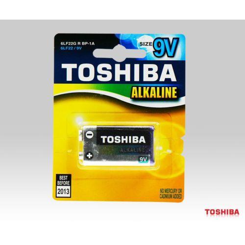 Toshiba 9 Volt Alkalin Pil 6Lf22 1 Adet Kd