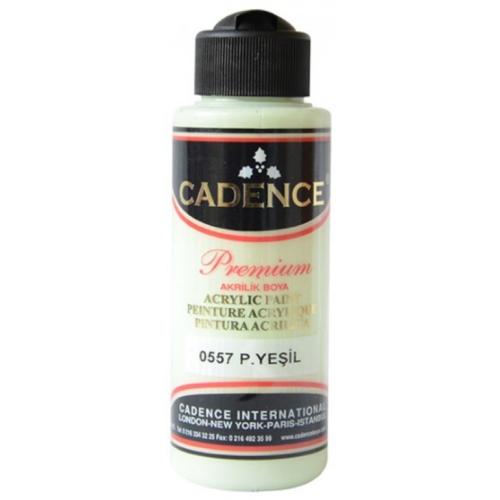 Cadence Premium Akrilik Boya 120ml 0557 Pastel Yeşil