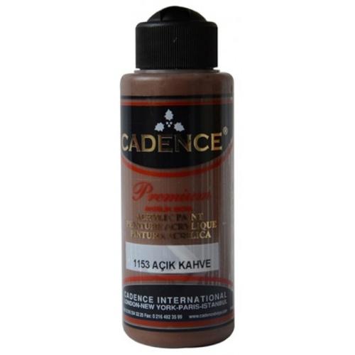 Cadence Premium Akrilik Boya 120ml 1153 Açık Kahverengi